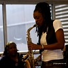 20170405 Jazzy Saxophonist LaKecia Benjamin Band WBGO  38 YR - 2 Gateway Center 3