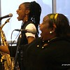 20170405 Jazzy Saxophonist LaKecia Benjamin Band WBGO  38 YR - 2 Gateway Center 5