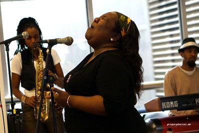 20170405 Jazzy Saxophonist LaKecia Benjamin Band WBGO  38 YR -039