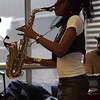 Jazzy Saxophonist LaKecia Benjamin Band WBGO  38 YR - 2 Gateway Center MAH00150