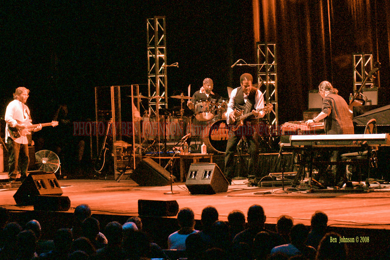 Return To Forever appearing at The Mann Center For The Performing Arts in Philadelphia PA on August 5, 2008