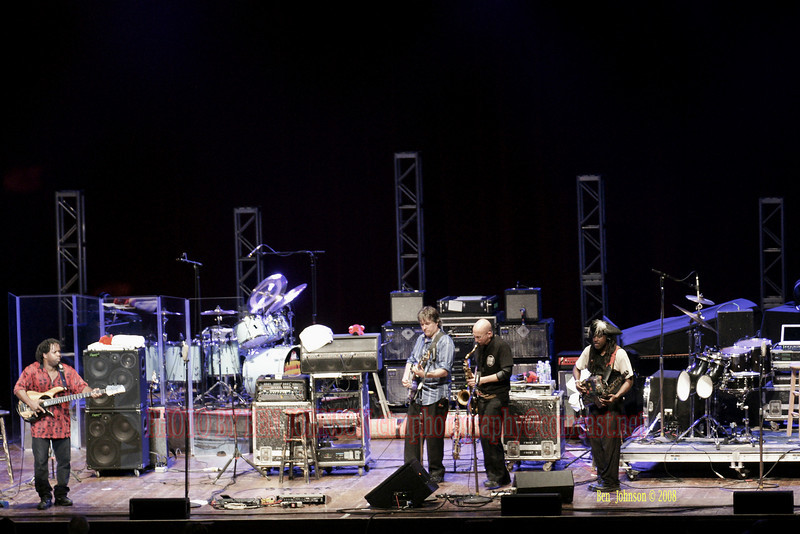 Bella Fleck & The Flecktones appearing at The Mann Center For The Performing Arts in Philadelphia PA on August 5, 2008
