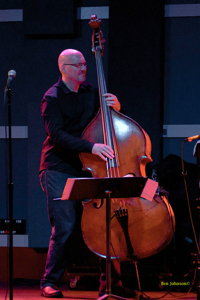 Scott Colley photo - with Gary Burton  appearing at World Cafe Live in Philadelphia, PA on Septemer 25, 2011