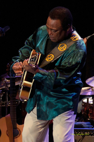 George Benson brought his Guitar Man tour to The Keswick Theater on October 23, 2011