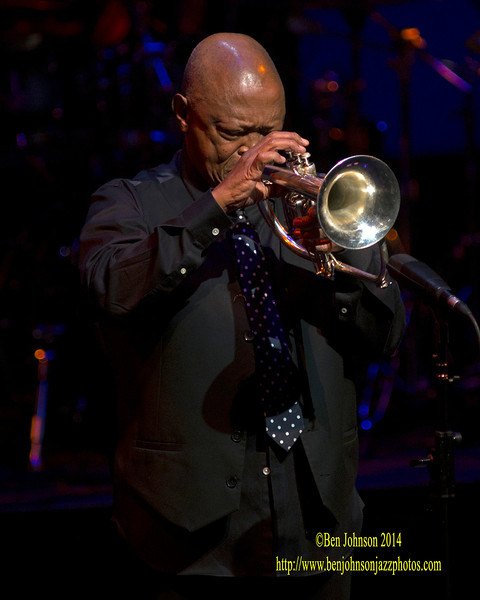 Hugh Masekela celebrates his 75th birthday performing at The New Jersey Performing Arts Center in Newark on April 6, 2014