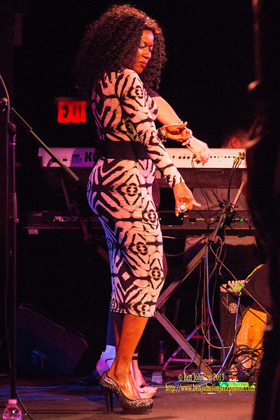 British Acid Jazz Band Incognito Performing at B.B. Kings in New York City April 2, 2013