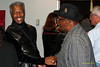 Billy Harper photo greeting fans after performing  at Montgomery County Community College in Blue Bell PA, on October 15, 2011