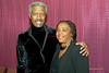 Billy Harper and Helen Haynes the director of cultural affairs at Montgomery County Community College in Blue Bell PA, on October 15, 2011