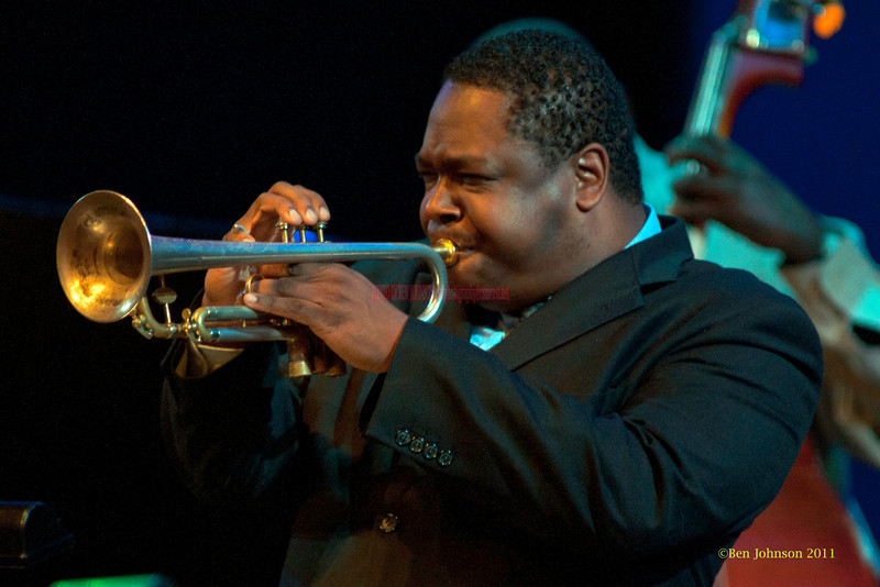Freddie Hendrix Photo - performing with The Billy Harper Quintet at The Montgomery County Community College in Blue Bell PA, on October 15, 2011