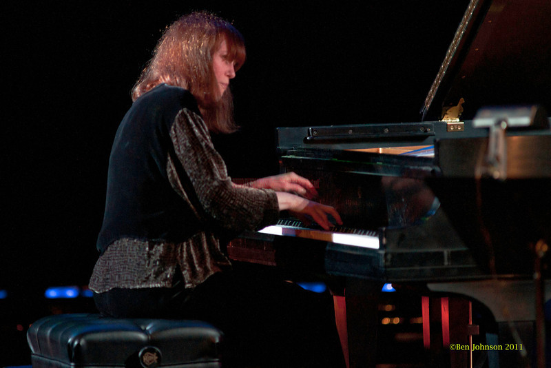 Francesca Tanksley Photo - performing with The Billy Harper Quintet at The Montgomery County Community College in Blue Bell PA, on October 15, 2011