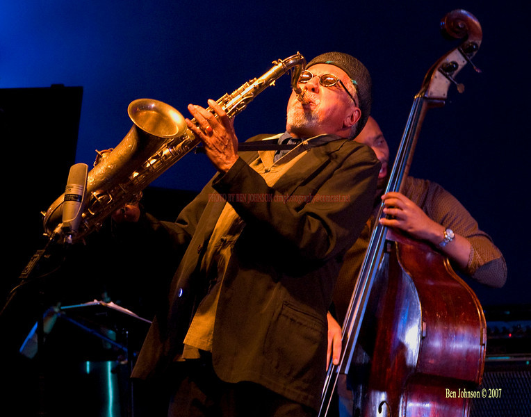 Charles Lloyd - Performing at The Montgomery County College (PA) Lively Arts Series 2007