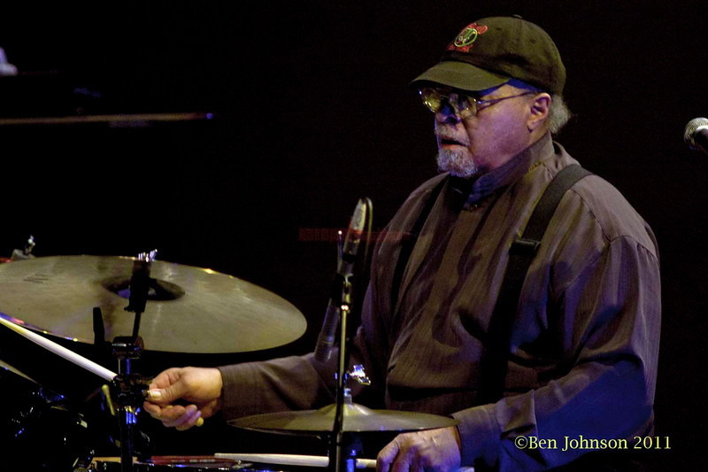 Drummer Jimmy Cobb and The So What Band performing at Montgormery County Community College - Blue Bell Campus' Science Auditorium on February 11, 2011. Jimmy Cobb - Drums, Larry Willis - Piano, Javon Jackson - Tenor Sax, Vincent Herring - Alto Sax,  Buster Williams - Bass, Jeremy Pelt - Trumpet