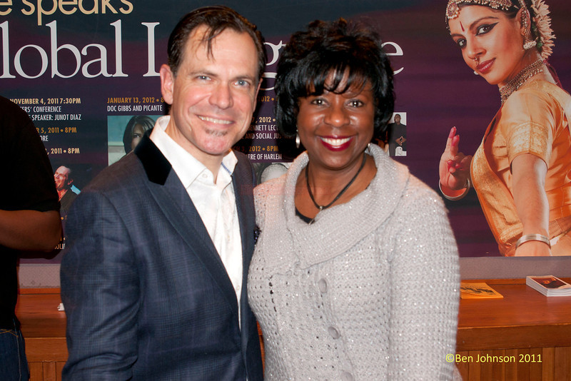 Kurt Elling's and Karen Brundage-Johnson at The Montgomery County Community College in Blue Bell, Pennsylvania on December 3, 2011