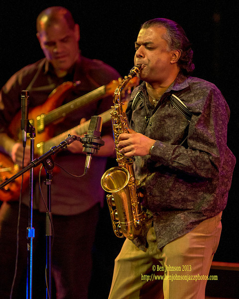 Rudresh Mahanthappa and GAMAK performing at The Montgomery County Community College April 6, 2013