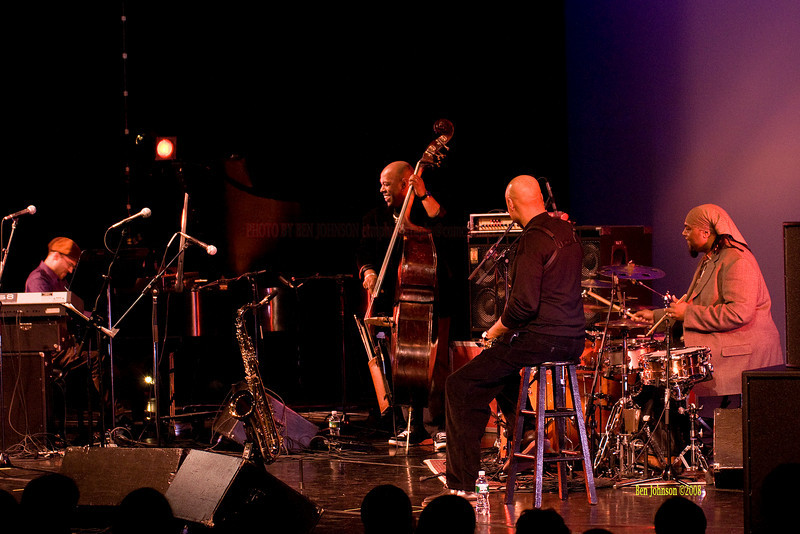 The Christian McBride Band performing  at the Montgomery Community College Science Theater, December 12, 2008