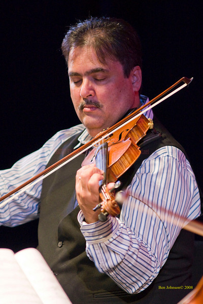 David Balakrishnan - The Turtle Island String Quartet performing John Coltrane's music including 'A Love Supreme' at the Montgomery Community College Science Theater, November 8, 2008