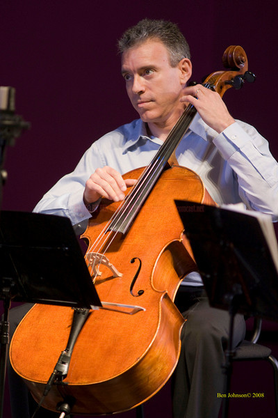 Mark Summer - The Turtle Island String Quartet performing John Coltrane's music including 'A Love Supreme' at the Montgomery Community College Science Theater, November 8, 2008