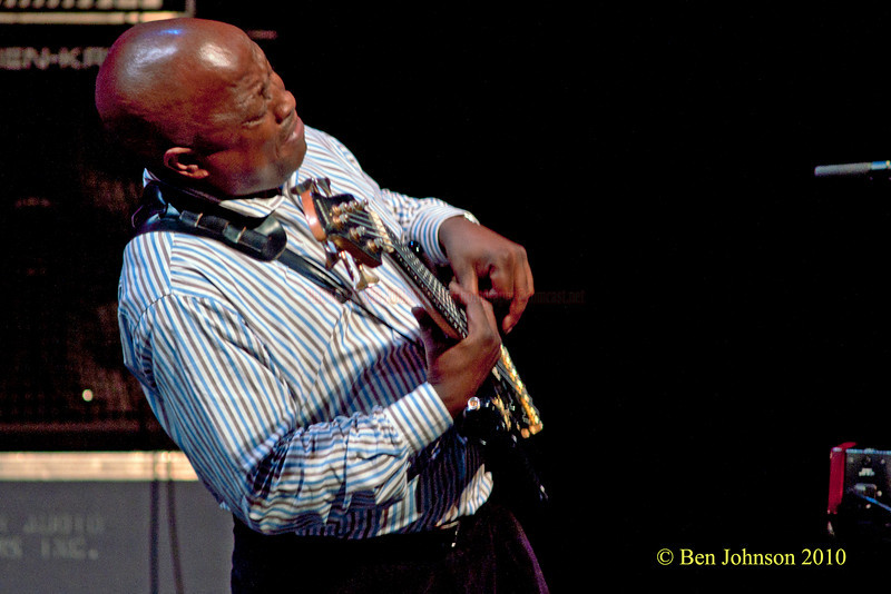 """ABEDNIGO """"FANA"""" ZULU Photo with Hugh Masekela - Performing at TheZellerbach Theater - The Annenburg Center for The Arts on  The University of Pennsylvania Campus in Philadelphia on October 8, 2010"""