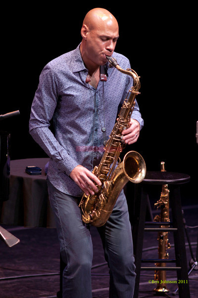 Joshua Redman Photo -  performing at The Annerberg Center for the Arts' Zellerbach Theater on the University of Pennsylvania Campus on October 14, 2011