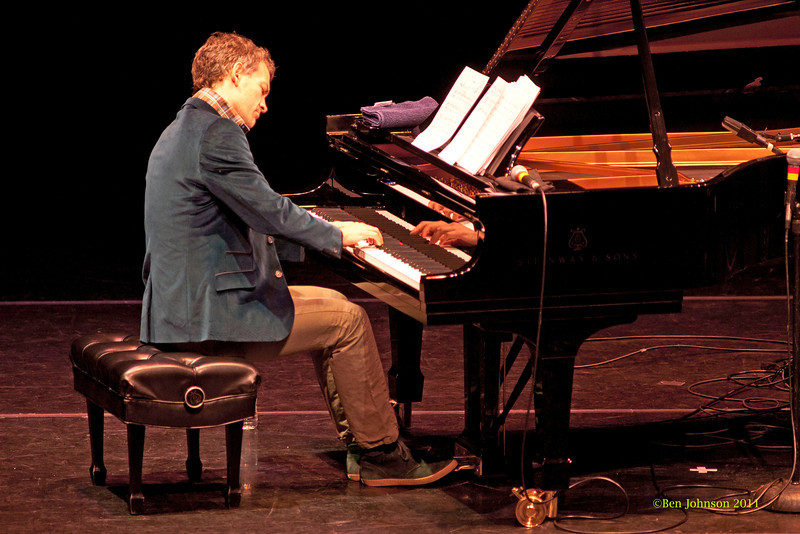 Brad Mehldau Photo - performing at The Annerberg Center for the Arts' Zellerbach Theater on the University of Pennsylvania Campus on October 14, 2011