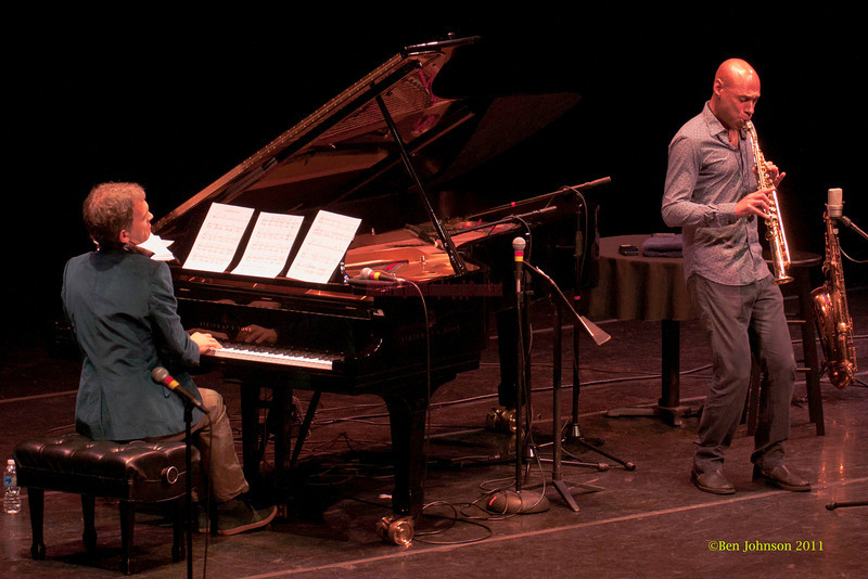 Joshua Redman and Brad Mehldau Photo -  performing at The Annerberg Center for the Arts' Zellerbach Theater on the University of Pennsylvania Campus on October 14, 2011