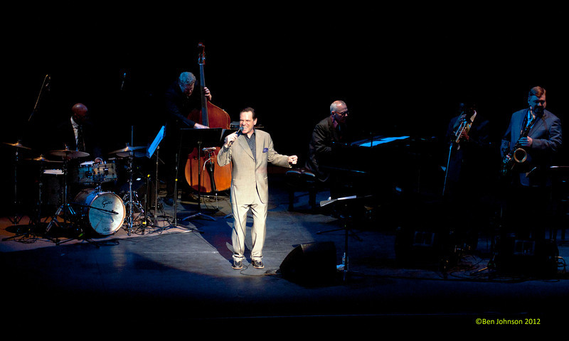 Kurt Elling Swings Sinatra in The Zellerbach Theater at The Annenberg Center on The University of Pennsylvania campus in Philadelphia, PA on April 28, 2012 featuring Kurt Elling vocals, Laurence Hobgood Piano, Lewis Nash Drums, Clarke Sommers Bass, Brandon Lee Trumpet, Joel Frahm Saxophone