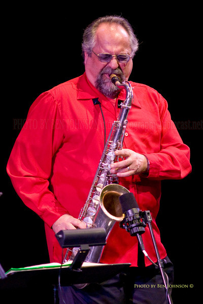 Joe Lovano with The SF Jazz Collective at Zellerbach Theater, Philadelphia March 5, 2009
