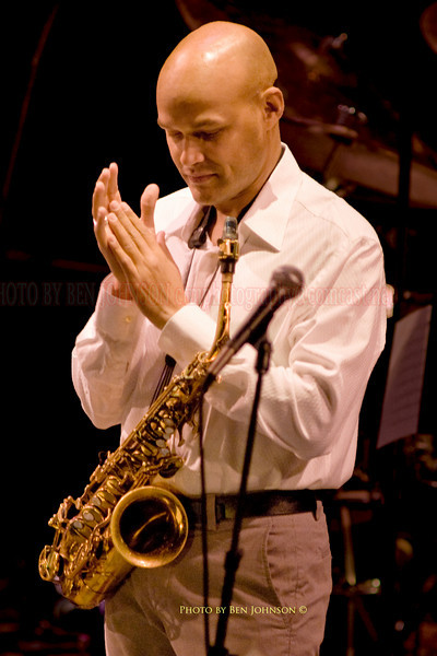 Miguel Zenon with The SF Jazz Collective at Zellerbach Theater, Philadelphia March 5, 2009