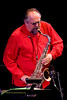Joe Lovano Photo  with The SF Jazz Collective at Zellerbach Theater, Philadelphia March 5, 2009