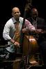 Eric Revis \Photo with Branford Marsalis - Zellerbach Theater Philadelphia, PA April 5, 2009