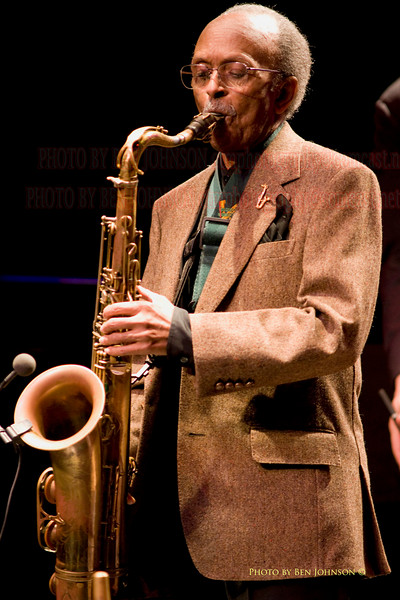 Jimmy Heath Photo -  performing at The Gordon Theater on The Rutgers Camden Campus, May 8, 2009
