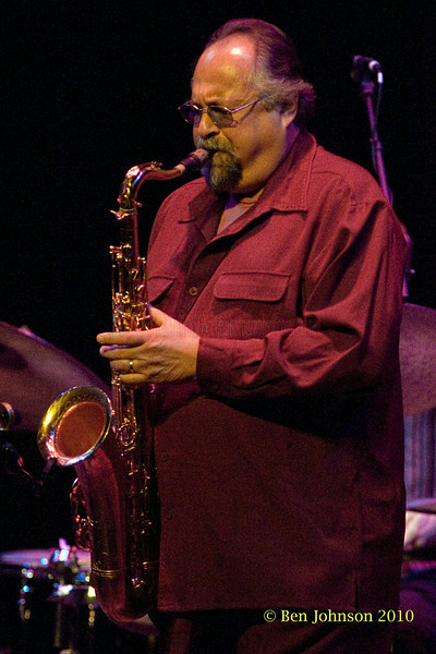 Joe Lovano and John Scolfield Quartet performing at The Grand Opera House, in Wilmington, Delaware featuring Matt Penman on Bass and Bill Stewart on drums, January 29, 2011