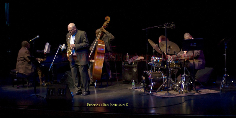 Bobby Watson's quartet featurning Curtis Fuller, Larry Willis and Eric Kennedy, performing at The Kimmel Center in Philadelpia in a tribute to John Coltrane and Cannonball Adderly 'A Kind of Blue Turns 50'