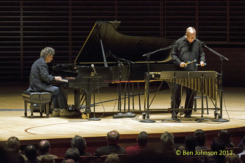"""Chic Corea and Gary Burton with The Harlem String Quartet – """"The Hothouse Tour"""" photos   -  Appearing in Verizon Hall at The Kimmel Center For The Performing Arts in Philadelphia, Pa., November 9, 2012"""