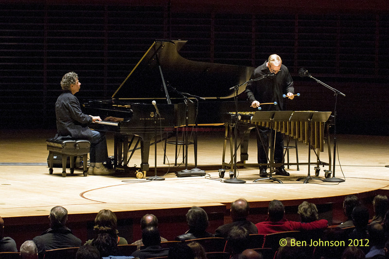"Chic Corea and Gary Burton with The Harlem String Quartet – ""The Hothouse Tour"" photos   -  Appearing in Verizon Hall at The Kimmel Center For The Performing Arts in Philadelphia, Pa., November 9, 2012"