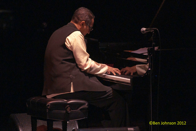 Pianist Danilo Perez Photo -  performing the opening set of Chucho Valdes Photo -  concert at The Merriam Theater in Philadelphia on January 26, 2012