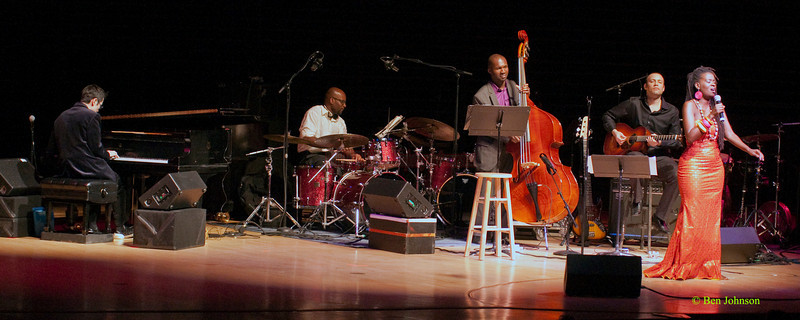 Somi - Somi Band performing at The Kimmel Center in Philadelphia, Pa on March 19, 2010