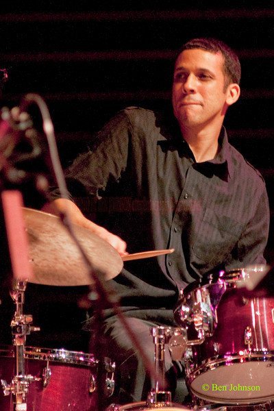 Adam Cruz Photo - performing with Danilo Pérez: .Things to Come: 21st Century Dizzy Jazz Concert' at the Kimmel Center, March 19, 2010