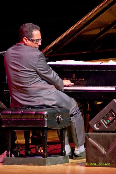 Danilo Pérez performs Things to Come: 21st Century Dizzy Jazz Concert at the Kimmel Center, March 19, 2010 with David Sanchez - tenor saxophone, Rudresh Mahanthappa - alto saxophone, Amir ElSaffar - Trumpet, voice Jamey Haddad  percussion,<br /> John Patitucci-bass<br /> Adam Cruz: drums