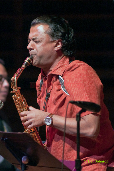 Rudresh Mahanthappa Photo - .performing with Danilo Pérez: .Things to Come: 21st Century Dizzy Jazz Concert' at the Kimmel Center, March 19, 2010