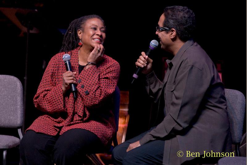 Geri Allen and Danilo Perez photo - The Geri Allen Quartet performing a tribute to Thelonious Monk at The Kimmel Center in Philadelphia, PA December 4, 2010