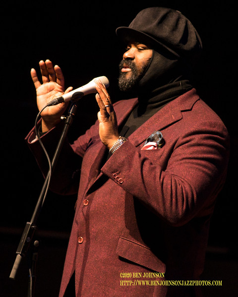 Gregory Porter Performs To A Packed House In Verizon Hall At The Kimmel Center In Philadelphia, February 10, 2020