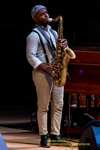 Tivon Pennicott With Gregory Porter Performs To A Packed House In Verizon Hall At The Kimmel Center In Philadelphia, February 10, 2020