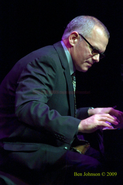 Laurence Hobgood Photo -Performing with Kurt Elling at The Kimmel Center in Phialdelphia, PA, November 22, 2009