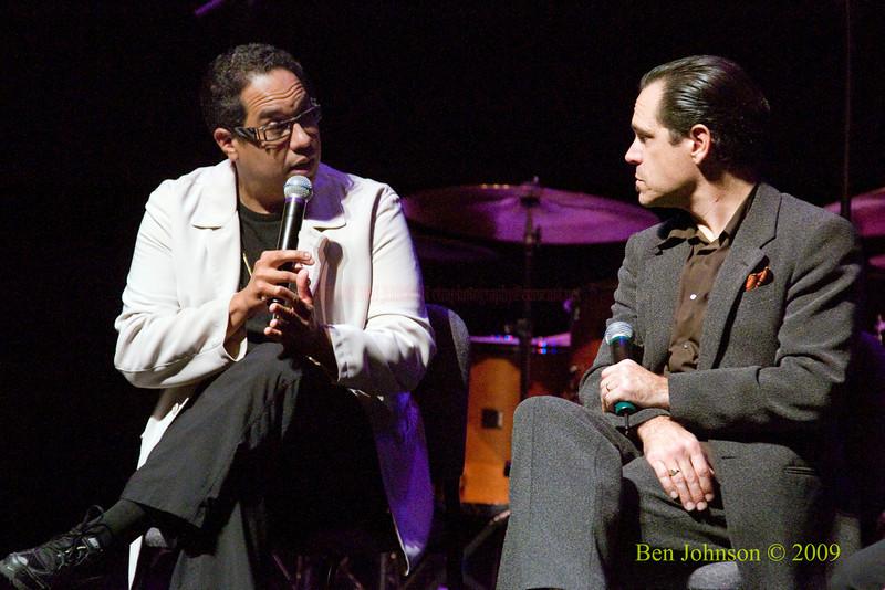 Danilo Perez and Kurt Elling Photo -Performing at The Kimmel Center in Phialdelphia, PA, November 22, 2009