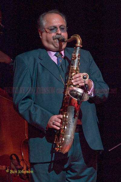 Joe Lovano Photo - Performing with McCoy Tyner's Quartet  in Verizon Hall at The Kimmel Center for The Performing Arts in Philadelphia, Pa on February 19, 2010