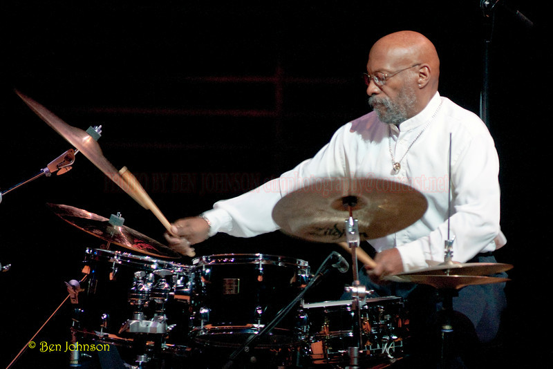 Eric Gravatt Photo - Performing with McCoy Tyner's Quartet  in Verizon Hall at The Kimmel Center for The Performing Arts in Philadelphia, Pa on February 19, 2010