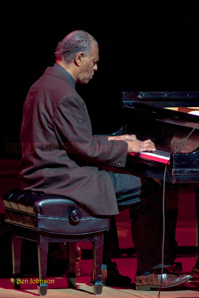 McCoy Tyner Photo -  performing in Verizon Hall at The Kimmel Center for The Performing Arts in Philadelphia, Pa on February 19, 2010