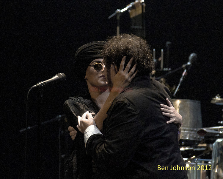 Melody Gardot and Phil Roy 'The Absence' tour at The Merriam Theater in Philadelphia PA, September 29, 2012