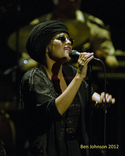 Melody Gardot 'The Absence' tour at The Merriam Theater in Philadelphia PA, September 29, 2012